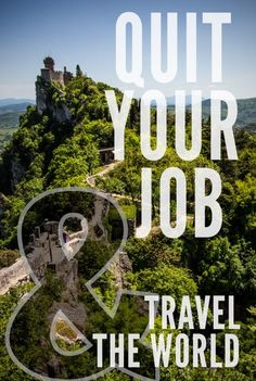 Quit Your Job and Travel the World on northtosouth.us Great tips on how to save for a trip