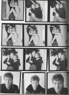 John and Yoko, photo shoot on the last day of his life, December 8th, 1980 :*( <3