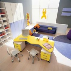 Helles Zwillingszimmer - light twins bedroom