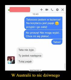 W Australii to nic dziwnego – Funny Sms, Wtf Funny, True Memes, Funny Comics, Best Memes, Fun Facts, Real Life, Jokes, Mood