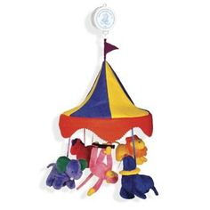 Velveteenie Circus Mobile by North American Bear Co 1483 *** Check this awesome product by going to the link at the image. (This is an affiliate link)