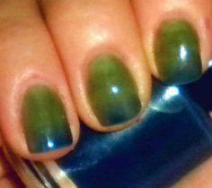 Color Changing Nail Polish  Mood Nail Polish  by BigTRanchSoap, $8.50
