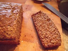 Quinoa & Flax Seed Gluten-Free Bread | Amazing with hummus and broccoli sprouts!<3  Kitchen Operas