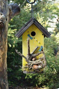 #homemadebirdhouses #diybirdhouse