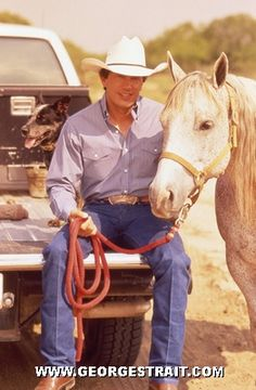 George Strait. So much perfection in one picture!!!