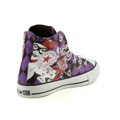 Converse All Star, Harley Quinn Sneaker -- hey I own these! And I love them!