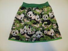 rokje 5. maat 122-128 panda's