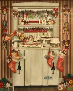 Another Christmas Cabinet