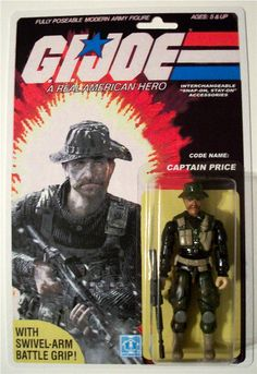 G.I. Joe figure - COD's Captain Price - Popsfartberger