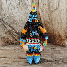 BEADED RAIN DANCER BY TODD PONCHO ZUNI