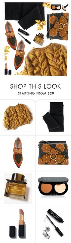 """""""Autumn Colors"""" by juliehooper ❤ liked on Polyvore featuring Chloé, Burberry, Bobbi Brown Cosmetics, polyvoreeditorial and Autumncolors"""