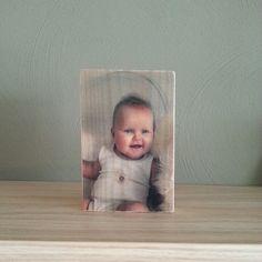 Foto op hout afmeting 10x15 cm