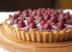 Cascadian Farm Raspberry Cream Pie #12daysofpie