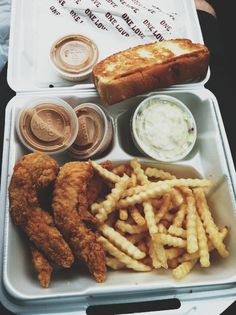 Raising canes...so good. Best freakin sauce ever. Oh yea and toast is so buttery and warm. Oh man im hungry now. Lol
