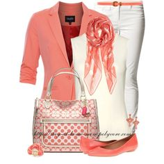 """Coach Bag & Elephant Scarf"" by stay-at-home-mom on Polyvore"