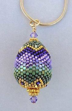 THIS BEADIFUL WORLD... — Beaded bead (seed beads)