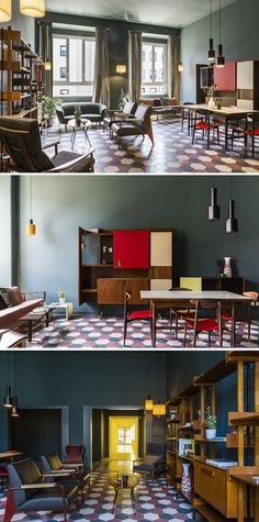 M♥ casaBASE   foresteria e residenza d'artista   via Tortona, Milano Milan Hotel, Minimalism, Hotels, Interior Design, Architecture, Table, Room, Furniture, Home Decor