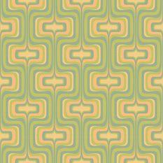 Retro Wallpaper | 1960's Mod Art Design | Bradbury & Bradbury