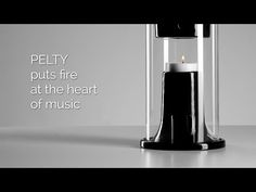 Pelty is Bluetooth speaker that's powered by fire. Yes, the heat of one candle apparently produces enough energy to run the built-in Bluetooth speaker unit for up to five hours, as you send music to it from your smart device.