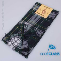 wool sash in Campbell Dress Tartan from ScotClans