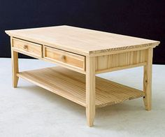 Four DIY Coffee Tables: Simple Projects for Building Unique Living Room Accessories