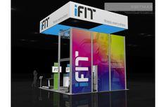 iFit – 20×20 Trade Show Exhibit Rental