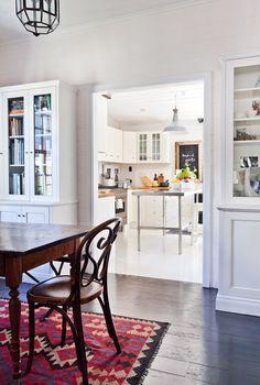 wide doorway.