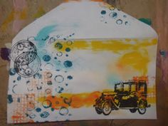 susan walker art: Mail Art, My First as part of International Union of Mail art