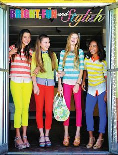 Bright & Fun Fashion! See more go to ---> http://bit.ly/BUYTODAY