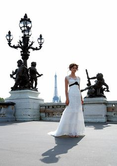 Beautiful wedding dress by Cymbeline Paris. Sell Wedding Dress, Wedding Party Dresses, Couture Wedding Gowns, Bridal Gowns, Blue By Enzoani, Party Dresses Online, Antibes, Chic Wedding, Dream Wedding
