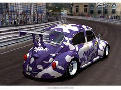 Milka PSR by nobutora Volkswagen Germany, Volkswagen Bus, Combi Wv, Purple Cow, Vw Classic, Beetle Car, Vw Vintage, Vw Cars, Unique Cars
