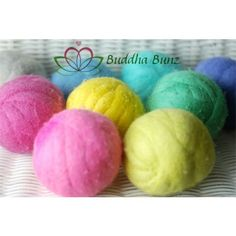 Buddha Bunz - Wool Dryer Balls {set of 3} - Handmade in USA