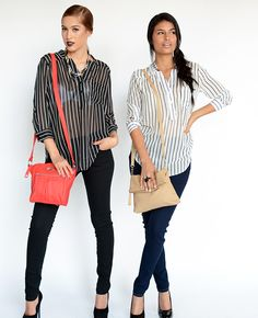 BLUSAS PRISION STRIPES | ATENEA BOUTIQUE