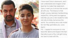 Zaira, you are a role model for me: Aamir  , http://bostondesiconnection.com/zaira-role-model-aamir/,  #youarearolemodelforme:Aamir #Zaira