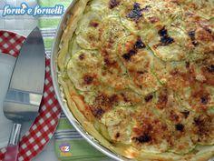 Torta salata patate zucchine