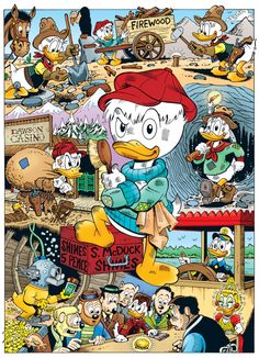 The Life and Times of Uncle Scrooge by Don Rosa Disney Duck, Disney Mickey, Walt Disney, Image Mickey, Don Rosa, Dagobert Duck, Pixar, Uncle Scrooge, Tsumtsum