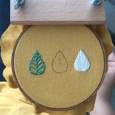 Fantastik work 😍❤️ - IG: hopebroidery Source by chris_tha - Hand Embroidery Patterns Flowers, Hand Embroidery Videos, Embroidery Stitches Tutorial, Creative Embroidery, Sewing Stitches, Learn Embroidery, Hand Embroidery Stitches, Embroidery Hoop Art, Embroidery On Clothes