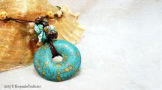 Keepsake Crafts  | Donut and Dangles Necklace Video Tutorial | http://keepsakecrafts.net/blog