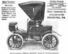 1903 Meteor Automobile Advertisement