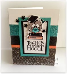 Chalk It Up papers - also great as a Graduation card with changed sentiment -