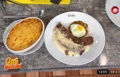 Recetas de hoy: lomo estilo saltimbocca, pastel de papa