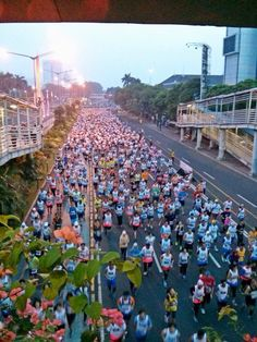 Jakarta Marathon Marathon Runners, October 27, Jakarta, Dolores Park
