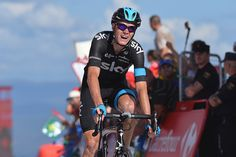 Gallery: 2014 Vuelta a Espana, stage 18 - Chris Froome (Sky) attacked the final climb, and it payed off. He moved past Alejandro Valverde to take second place overall at the Vuelta. Photo: Tim De Waele | TDWsport.com