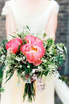#peony Photography: Anouschka Rokebrand Photography - www.anouschkarokebrand.com Read More: http://www.stylemepretty.com/2014/09/05/organic-style-netherlands-wedding/