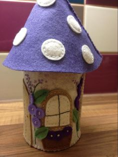 Looking for embroidery project inspiration? Check out Felt Pixie Houses by member Bobosunbeam. - via @Craftsy