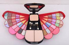 looks like butterfly makeup kit Makeup Kit, Beauty Makeup, Face Makeup, Makeup Stuff, Butterfly Makeup, Cosmetic Kit, Makeup Cosmetics, Make Up, Cosmetic Wholesale