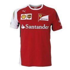 29a7417c1f Ferrari - 2014 team kit Fan Shirts