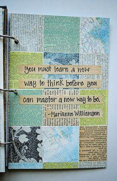 <3 Art journal inspiration. Collage-2 | Flickr - Photo Sharing!: