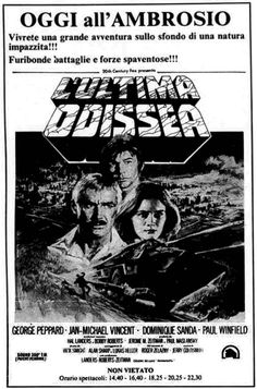 L'ultima odissea (Damnation Alley, 1977) di Jack Smight, con Jan-Michael Vincent e George Peppard. Italian release: January 19, 1978 #MoviePosters