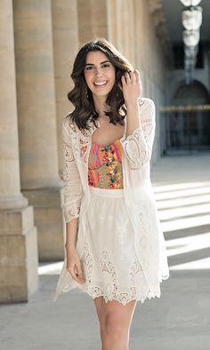Look relax branco Camila Coutinho para Riachuelo | summer essentials collection…